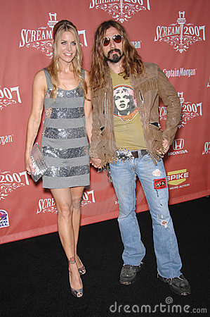 Rob Zombie, luna di Sheri, Immagine Stock Editoriale