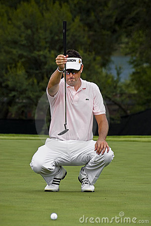Robert Allenby - Takes Aim - NGC2009 Editorial Image
