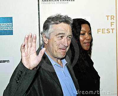 Robert De Niro; Grace Hightower Editorial Image
