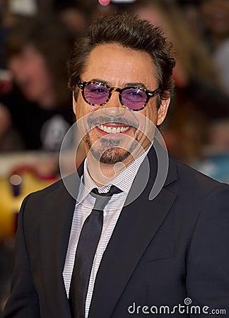 Robert Downey Editorial Stock Image