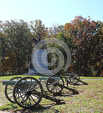 Robert e lee gettysburg monument