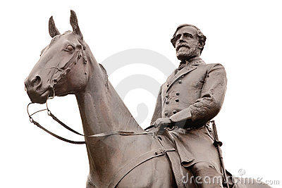 Robert E. Lee Statue at Gettysburg, Isolated