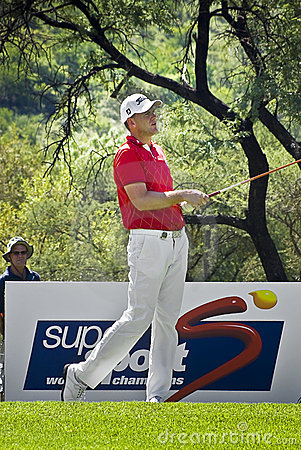 Robert Karlsson - 11th Tee Editorial Stock Image