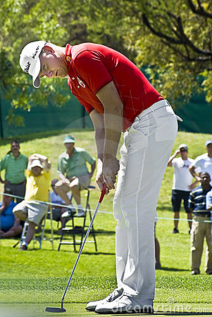 Robert Karlsson - 9th Green - NGC2009 Editorial Image