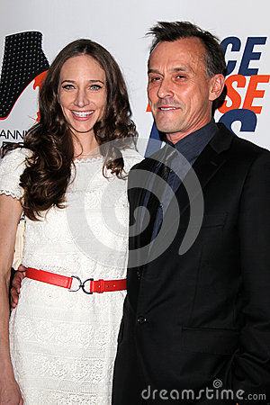 Robert Knepper arrives at the 19th Annual Race to Erase MS gala Editorial Stock Image