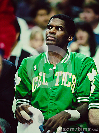 Robert Parrish Boston Celtics Editorial Stock Photo