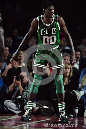Robert Parrish Boston Celtics Editorial Image