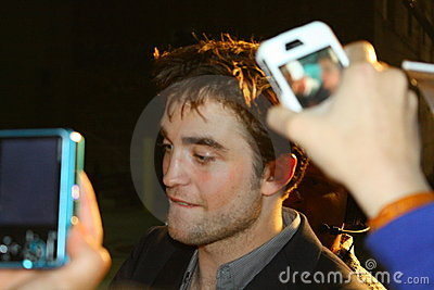 Robert Pattinson Editorial Image