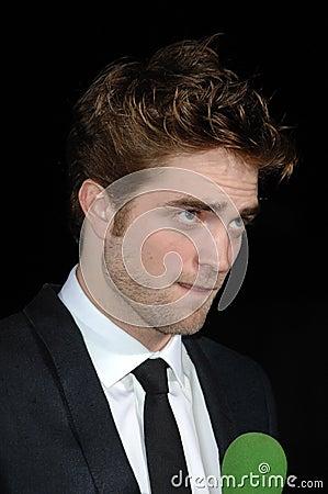 Robert Pattinson Editorial Stock Image