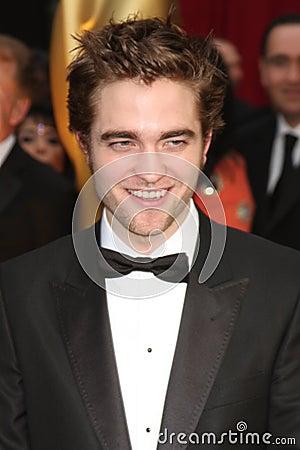 Robert Pattinson Editorial Image