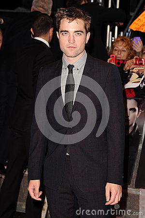 Robert Pattinson Editorial Stock Photo