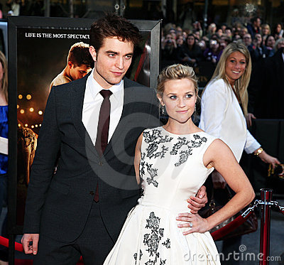 Robert Pattinson and Reese Witherspoon Editorial Image