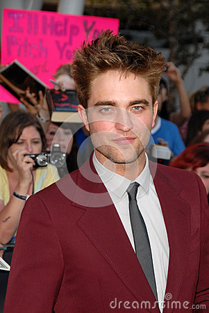 Robert Pattinson Editorial Photo
