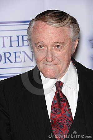 Robert Vaughn Editorial Image