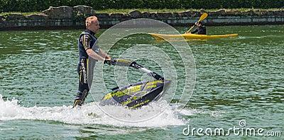 Roberto Mariani Jet-ski Editorial Stock Image