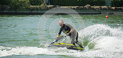 Roberto Mariani Jet-ski Editorial Photo