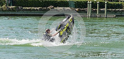 Roberto Mariani Jet-ski Editorial Stock Photo