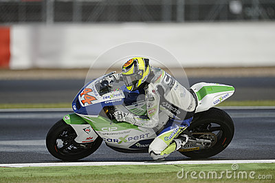 Roberto rolfo, moto 2, 2012 Editorial Stock Photo