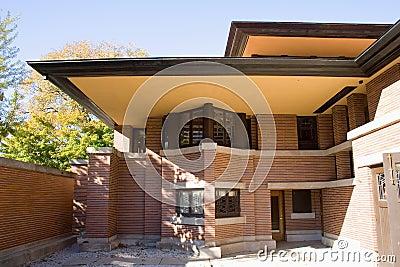 Robie House. Oak Park, Chicago