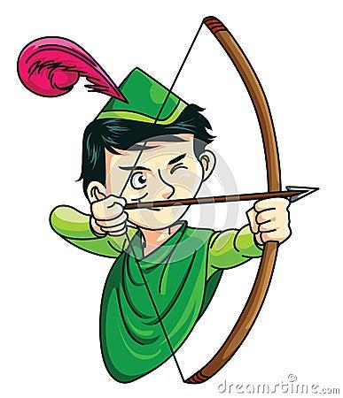 Free Robin Hood Royalty Free Stock Image - 47880526