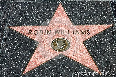 Robin Williams Editorial Photo