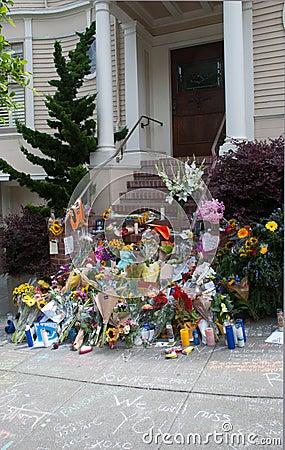 Robin Williams Memorial Editorial Photography