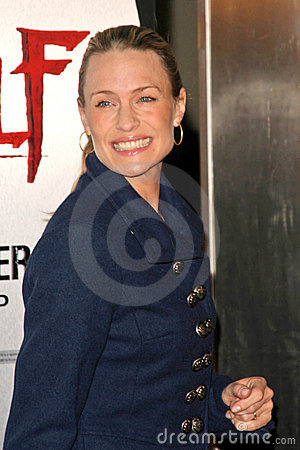 Robin Wright Penn Editorial Stock Image