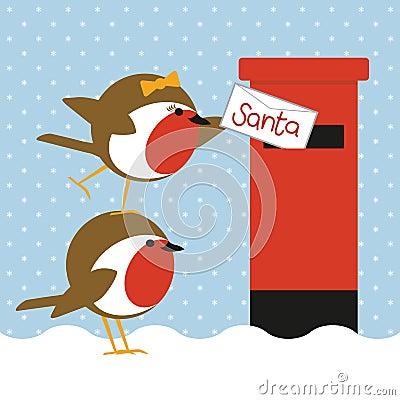 Robins posting letter