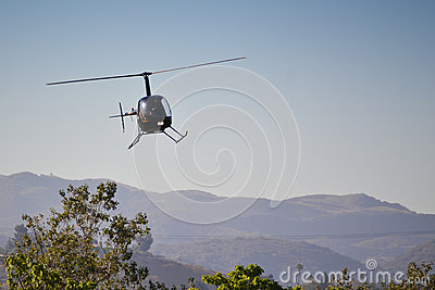 Robinson R22 Beta Editorial Stock Photo