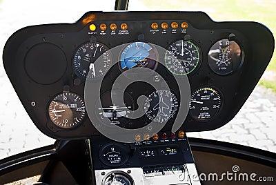 robinson r44 instrument panel stock photos image 14146673
