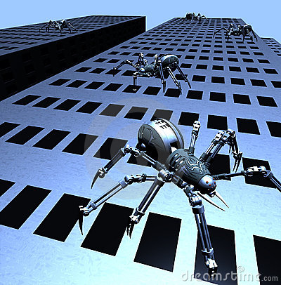 Robospiders Attack
