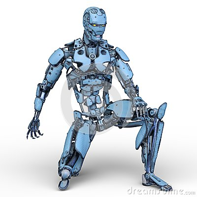 Free Robot Stock Images - 122074804