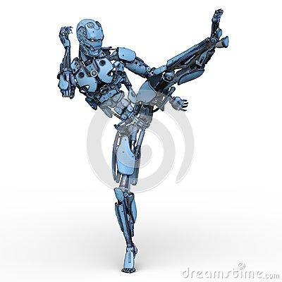 Free Robot Stock Images - 122074854
