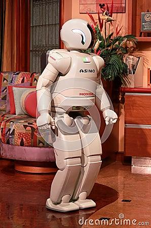 Robot Editorial Image