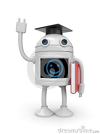 Free Robot Bachelor Royalty Free Stock Photography - 15992497