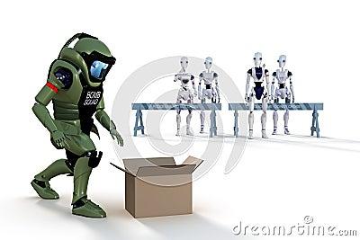 Robot Bomb Squad