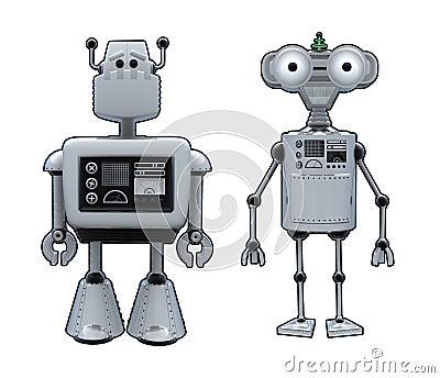 Robot Cartoons