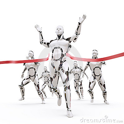 Robot champion