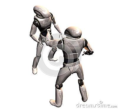 Robot conflict