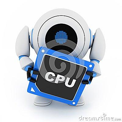 Robot and CPU