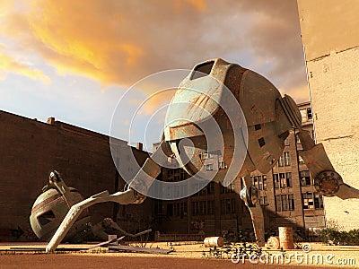 The robot depot