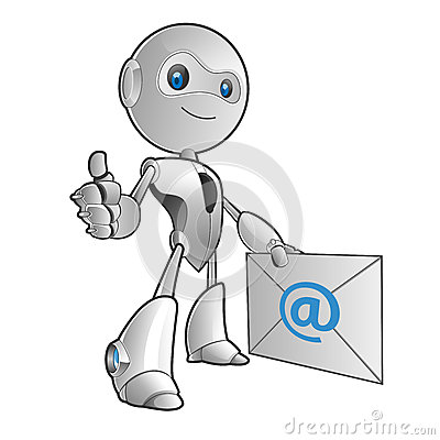 Robot email
