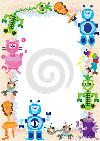 Robot Family Play Frame_eps