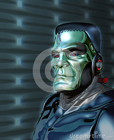 Free Robot Frankenstein - Artificial Intelligence Threat Stock Photo - 94261790