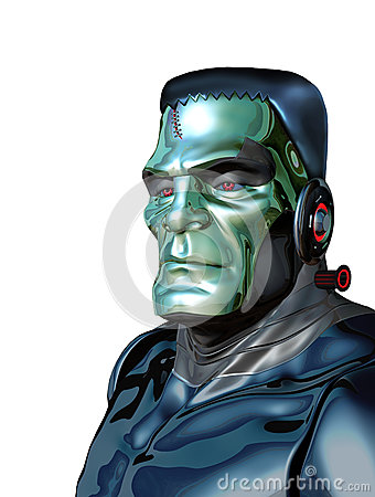 Free Robot Frankenstein - Artificial Intelligence Threat Stock Photos - 94261893