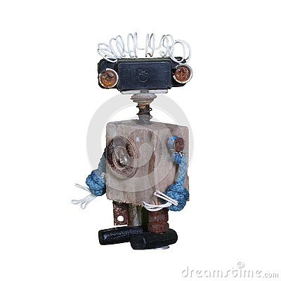 Free Robot Halloween. Figure For Games. Stock Image - 128326011