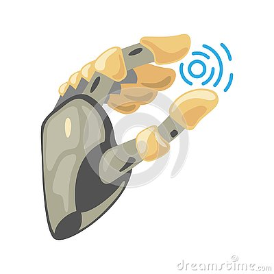 Free Robot Hand. Mechanical Technology Machine Engineering Symbol. Hand Gestures. Take Sign. Energy Between Fingers. Royalty Free Stock Images - 138273689