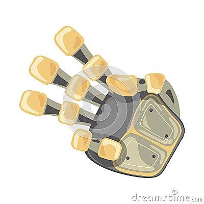 Free Robot Hand. Mechanical Technology Machine Engineering Symbol. Hand Gestures. Three. Pointer. Third. Futuristic Design. Stock Images - 138274094