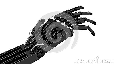 Robot Hand Reaching