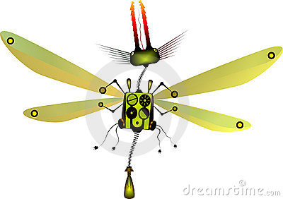 Robot Insect Stock Photography - Image: 8343412  X Files Robot Insects